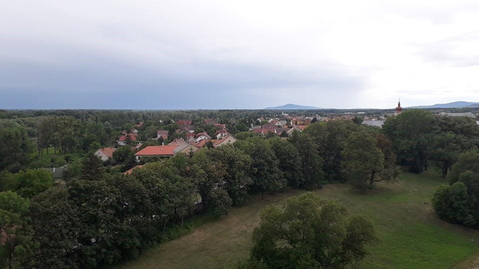 Kilátás a sárospataki várból